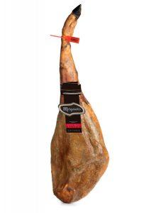 Jambon Ibérique de porc nourrit au Gland