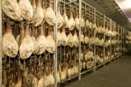 Natural drying warehouses: hams