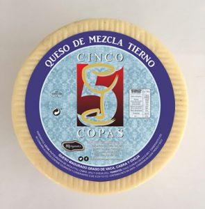 """""""Cinco de Copas"""" soft mixed-milk cheese"""