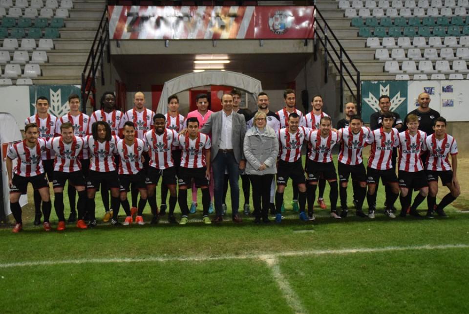 Presentación de las equipaciones oficiales del Zamora Club de Fútbol