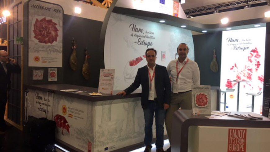 Melquiades Rodríguez en la Feria Internacional de Alimentación Anuga 2017