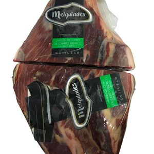 Boneless fodder-fed Iberian ham