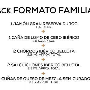 Pack Formato Familiar